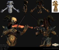 Pan and Violin Sheet by 31883milesperhour