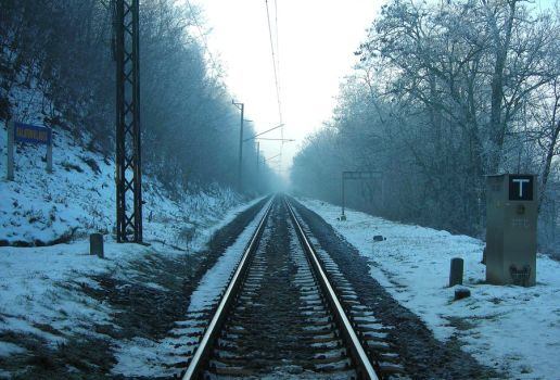 railroad to infinity by sakaali