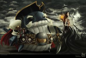 General Whale and Shadow by 2MindsStudio