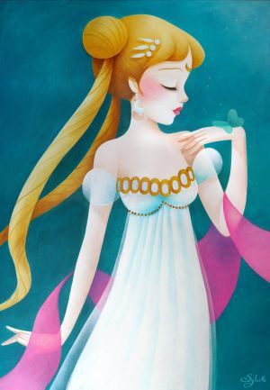 Princess Serenity by SybileArt