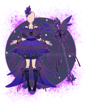 ...Magical Magpie Mistress...Adopt / CLOSED by Seelenbasar