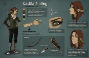 Ref sheet - Kasilla by Zoubstance