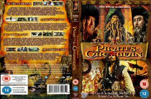 the pirates of the caribbean Dvd cover by cutnpaste-since2011