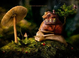 snail house by Lubov2001