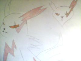 Zangoose sketch by li0nblaze