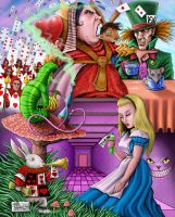 Alice in Wonderland by LabrenzInk