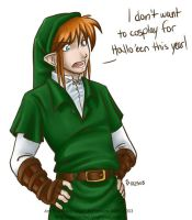 Ferris as Link by algy
