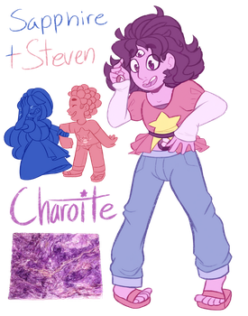 FT - (Steven/Sapphire) Charoite by TheZodiacLord