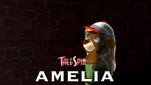 Amelia Poster by PUFFINSTUDIOS