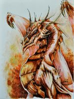 Smaug by ArtistoCecil