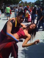 Dancing with Aang by xAleux