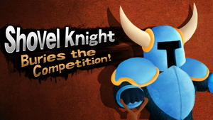 If Shovel Knight was in Smash 4. by themeguy