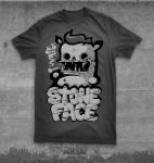 STONE FACE by KIWIE-FAT-MONSTER
