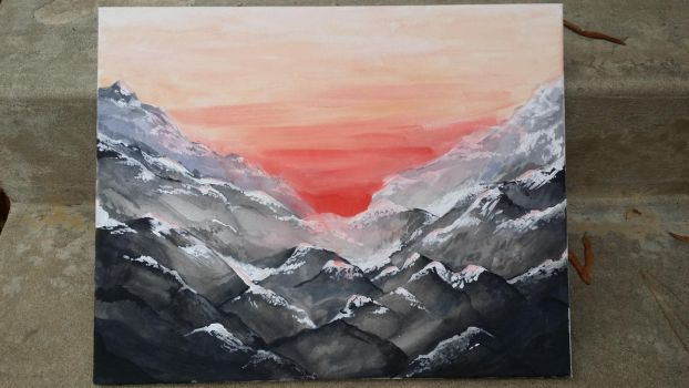 Mountains by Iriidesca