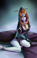 Midna by X-Chan-