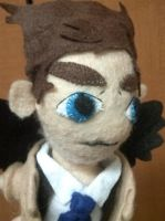 Castiel Plush by Vulpes-Canis