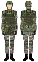 M10 Grade 1 Armor By Tounushi-forest Nato  by Adyb234