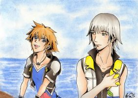 Kingdom Hearts 3D - just you by ReiWonderland