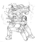 Cable and Domino by Max-Dunbar