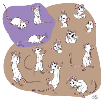 Mouse Character by itsbetsy by EHH123