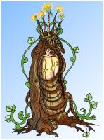 Noorna the tree spirit by OhAnneli