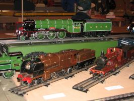 Hornby ACE and Bing O Gauge Trains 2 by TaionaFan369