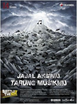 Telkomsel Battle of The Song by ge12ald
