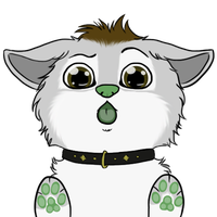 Puppy Okami Lick Icon by OkamiWhitewings