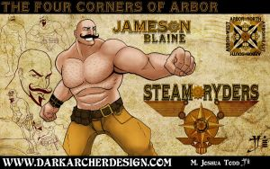 Jameson Blaine Concept Art by theDOC30427