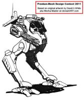 Franken Mech Contest Entry: Scout Walker by Tankman95