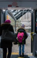 Through the Bus Doors 16 by bowtiephotography