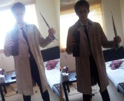 Castiel - Tailored trench coat by TheNaitsyrk