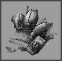 -S- Tau Helmets by martinhoulden