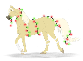 .:Christmas-Saheli:. by PeaBlueJr