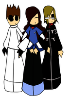 Me,Shannon Leto and Mikey Way by Joy-Nanami