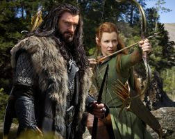 thorin x tauriel 9 by Bleach-Fairy