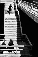 Stairs - Zagreb - 2000 by snaplife
