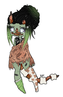 [bs-advent-5] Zombies by KatVizionz