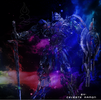 Optimus Prime: Color my sky by celtakerthebest