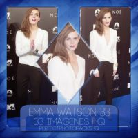 Photopack 3340: Emma Watson by PerfectPhotopacksHQ