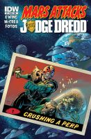 Mars Attacks Judge Dredd #1 Complete cover by LostonWallace