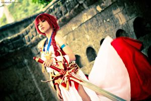 Magic Knight Rayearth - Hikaru Shidou by alainbrian