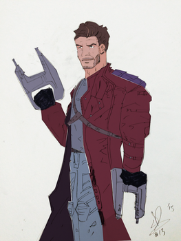 Star Lord (Flats) by Karantheartist