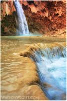 Havasu Falls by tourofnature