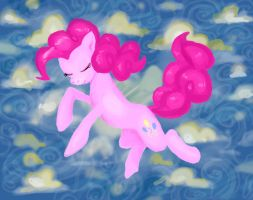 Pony Ballet: Pinkie Pie by Retaya