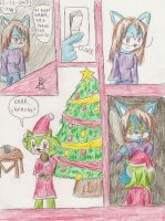 Contest entry: Santa Fang XD by Firen-the-hedgehog