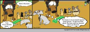Furballed: Seer and the Bone by twiggy-trace