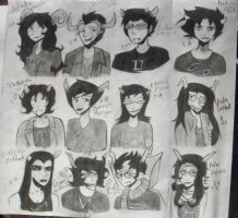 Homestuck Trolls by ShinraKishitani23
