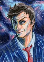 10th Doctor by skardash