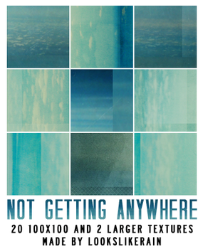 Not Getting Anywhere by lookslikerain